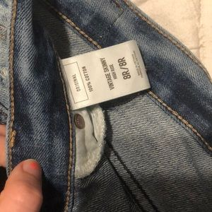 Express Jeans - Distressed jeans from express